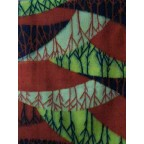 紅葉山模様の昭和レトロの着物