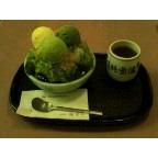 祇園都路里で抹茶氷・これは八瀬