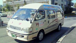 平野学区にコミュニティバス走る