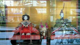 京のひな飾り