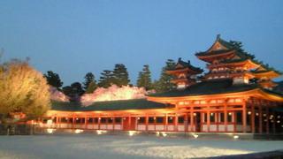 京都新聞の記事「平安神宮、鮮やか構想図 ,<br />  伊東忠太の直筆9枚発見」