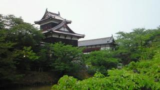 今日の富姫様の逗留の郡山城・角櫓と追手門