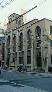 ヴォーリズの日本基督教団教会3作品をぽつぽつと見に