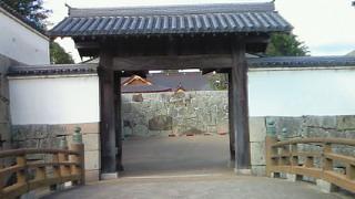 播州赤穂・赤穂城の門