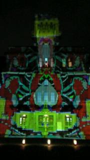 嵐山花灯路のプレイベントが京都市役所で開催