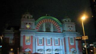 中之島光のルネサンス・公会堂はこんな感じ