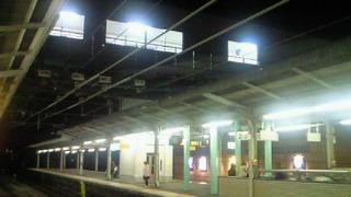 JR山科駅に上空通路があったかしらん?