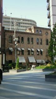 大阪国際美術館と周辺の洋風建築