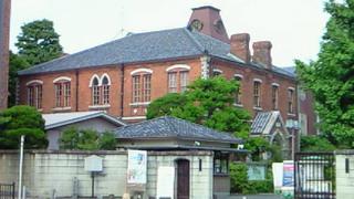 同志社大学大学近くのバザール・カフェ