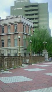 名古屋の納屋橋西北詰の旧加藤商会ビルヂング