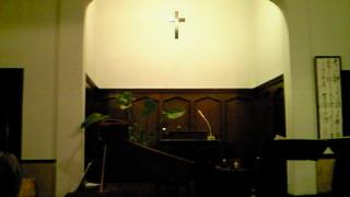 堅田教会でバロック