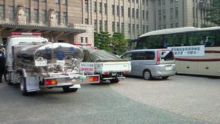 京都市からも第7次支援隊が仙台市に向けて出発
