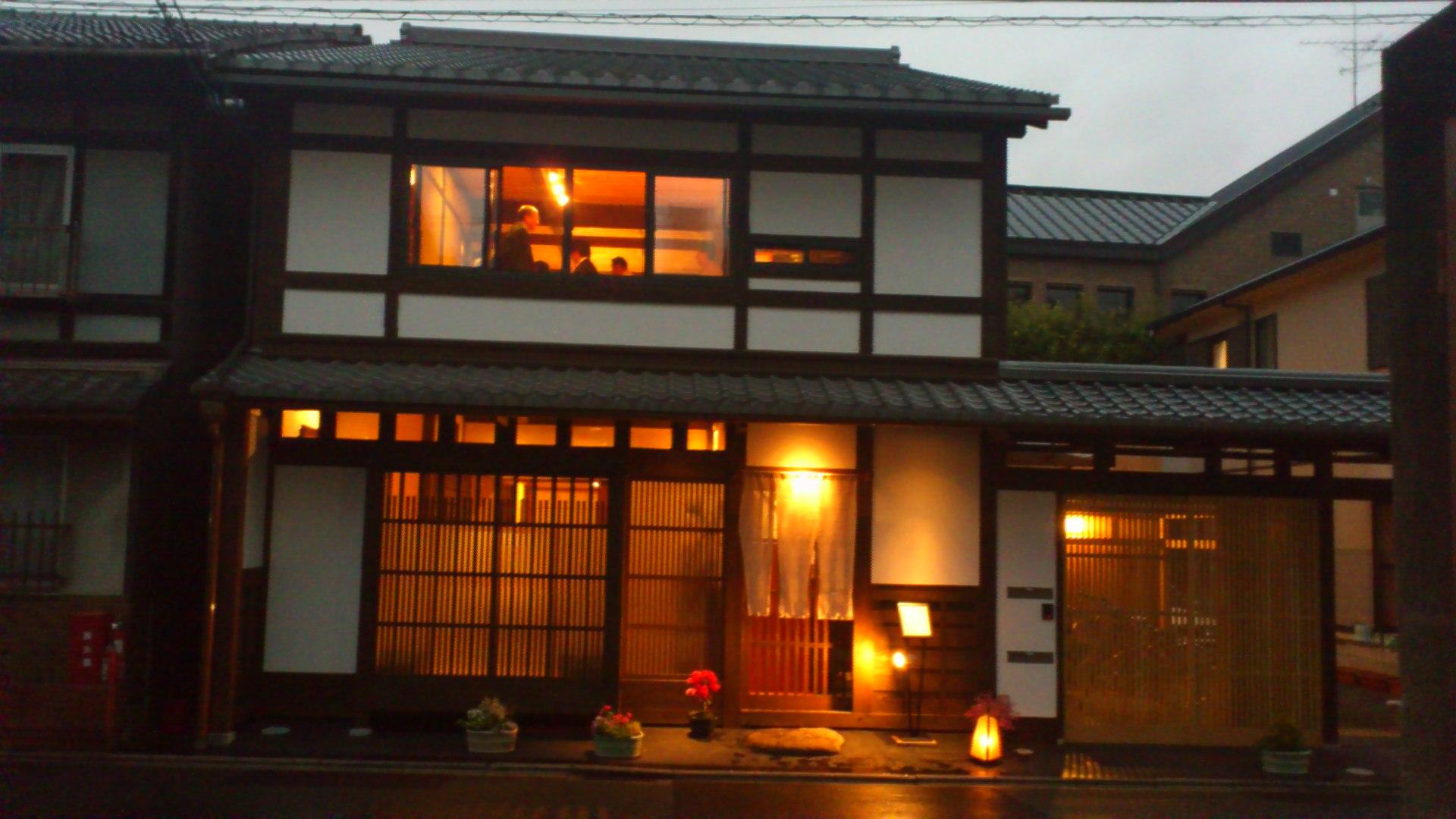 京町家のレストラン