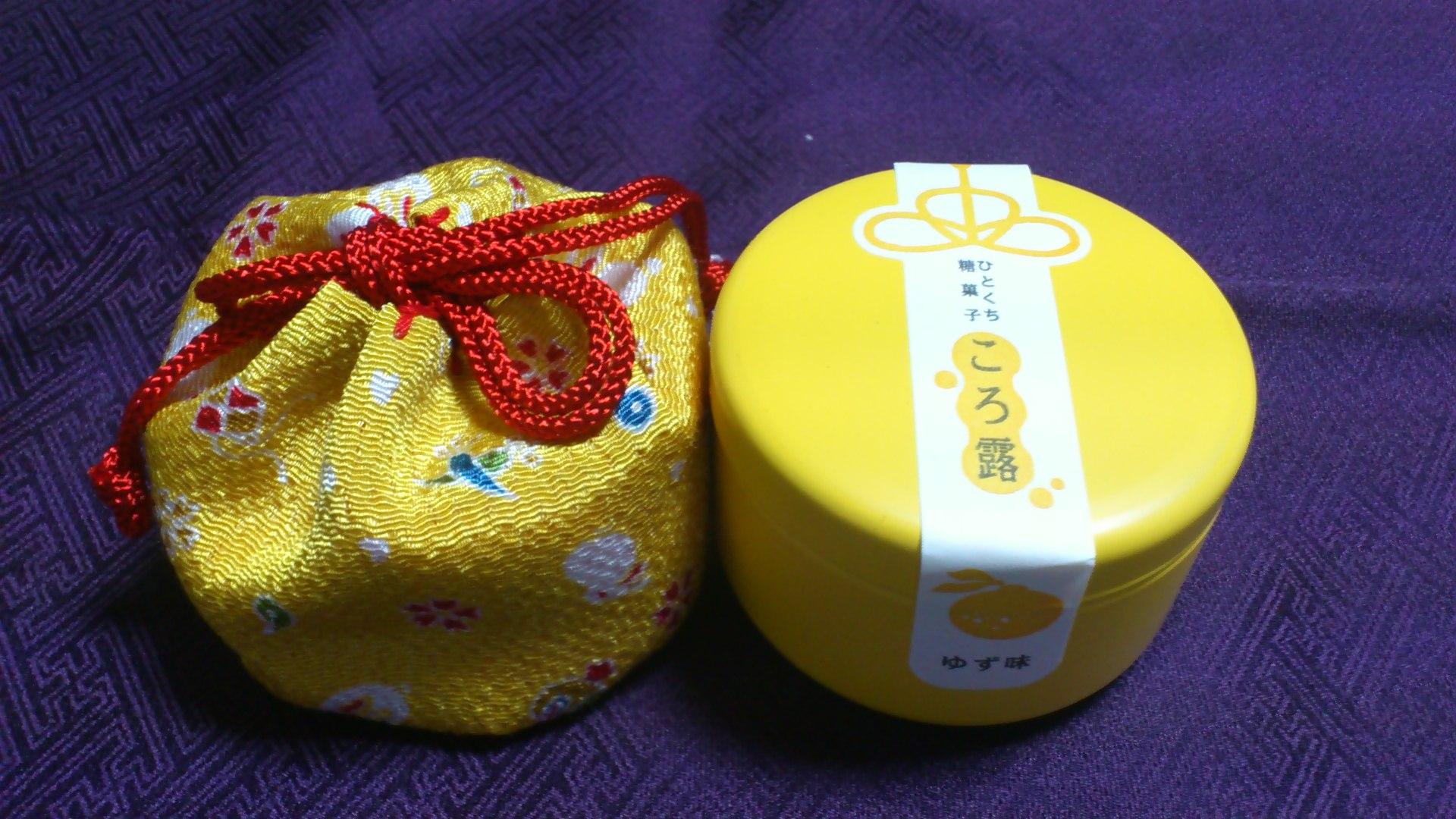 京都の女なら飴ちゃんはこうして持つ。