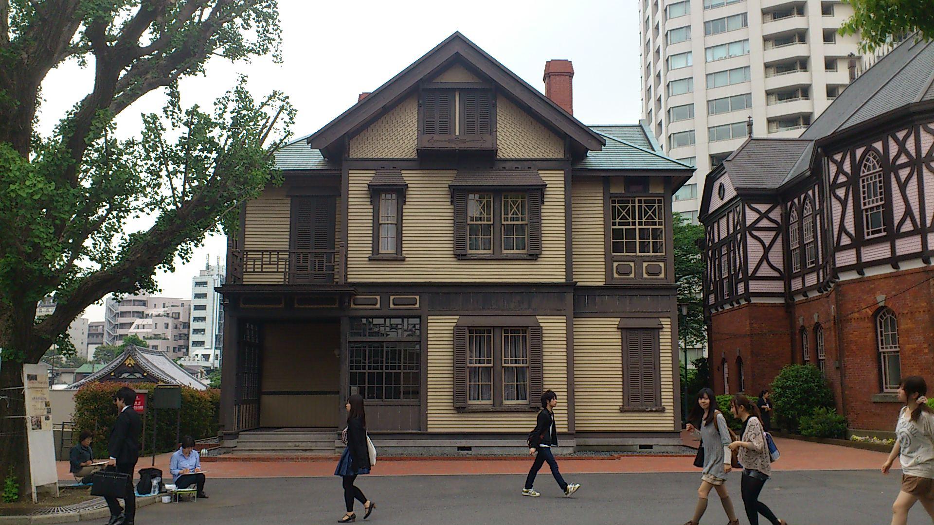 東京で立ち寄った近代建築1