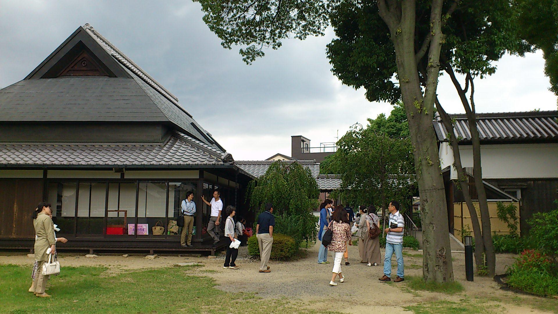 吹田市の浜屋敷で紙芝居浄瑠璃を拝聴してきました。
