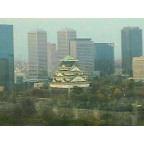 大阪城天守の大阪歴史博物館展望